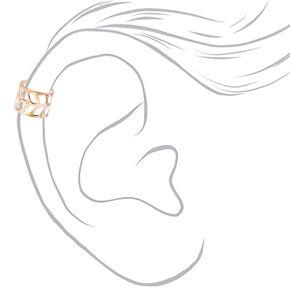 Mixed Metal Arrow Cut Out Ear Cuffs - 3 Pack,