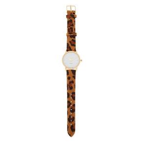 Tortoiseshell Classic Watch - Brown,
