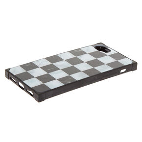 Checkered Marble Square Phone Case - Fits iPhone 6/7/8 Plus,