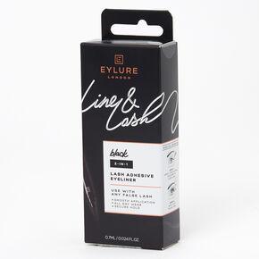 Eylure Line & Lash Adhesive Eyeliner - Black,