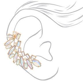 "Crystal 2"" Mismatched Earring Set,"