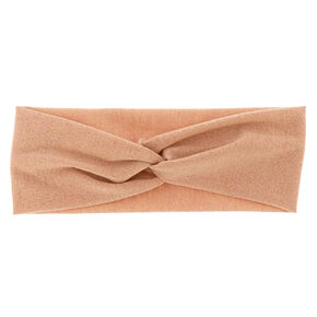 Rose Gold Glitter Headwrap,
