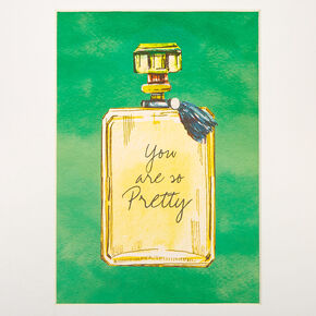 You Are So Pretty Perfume Bottle Mini Wall Art,