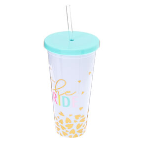 The Bride Tumbler Cup - White,