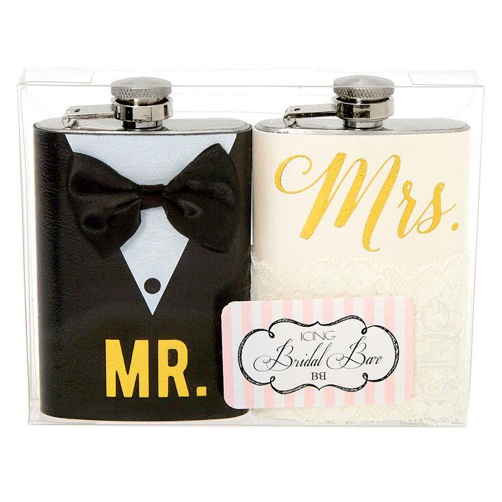 Mr. & Mrs. Flask Set - 2 Pack,