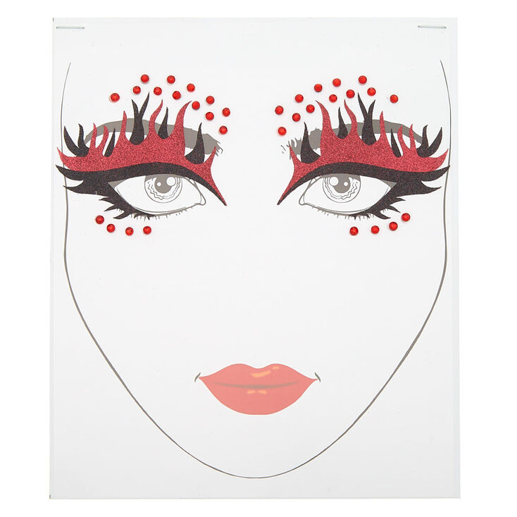Devil Face Stickers,
