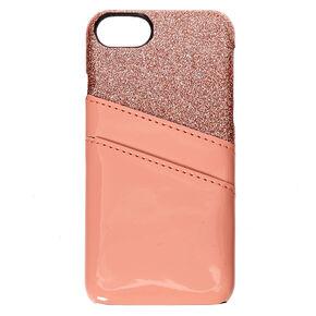 Blush Pink Wallet Phone Case - Fits iPhone 6/7/8 Plus,