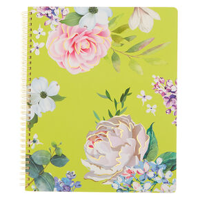 Floral Notebook - Yellow,