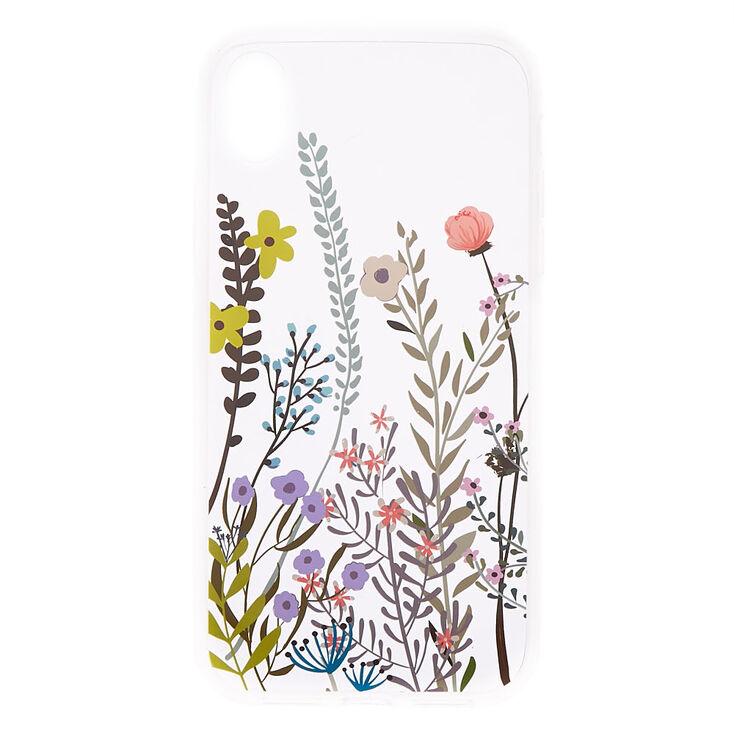 Wild Flower Phone Case - Fits iPhone XR,