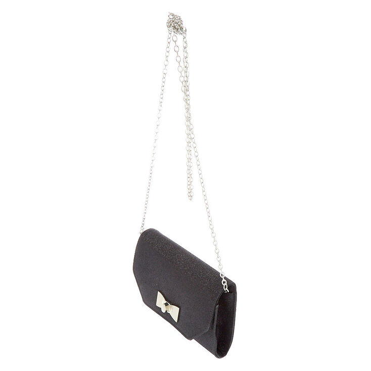 Envelope Clutch Bag - Black,