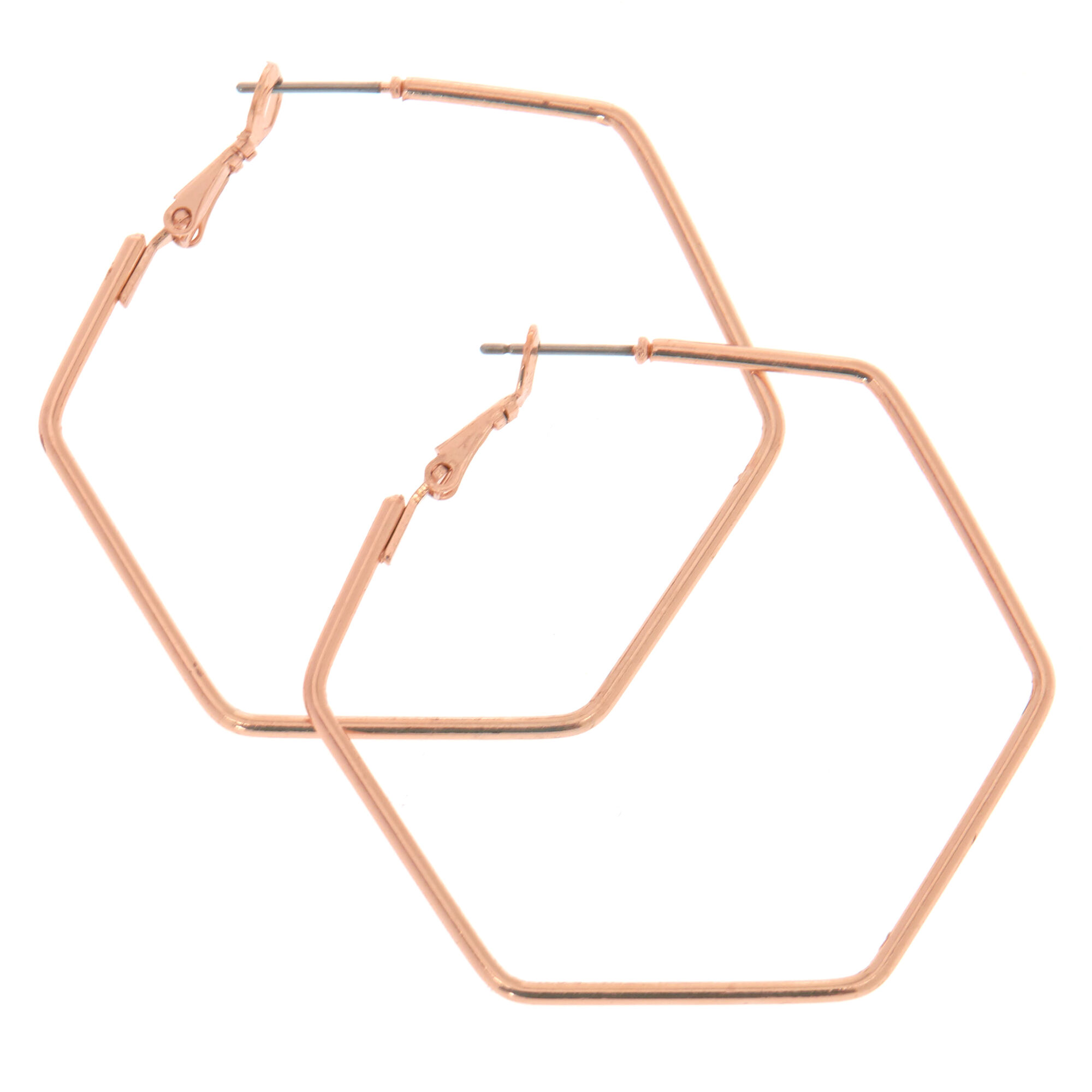 earrings hexagon store