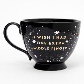Black Ceramic Zodiac Mug - Taurus,