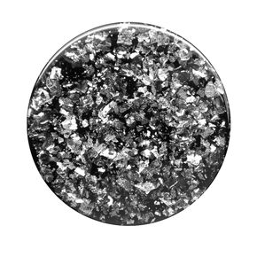PopSockets Swappable PopGrip - Black Foil Confetti,