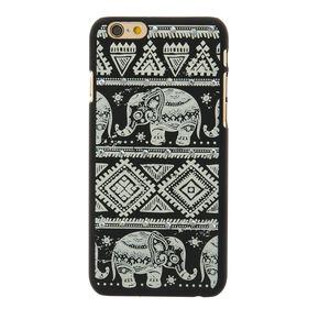 Aztec Elephant Glow in The Dark Phone Case - Fits iPhone 6/7/8,