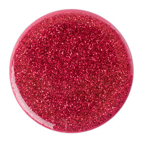 PopSockets Swappable PopGrip - Red Glitter,