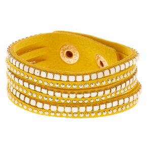 Western Wrap Bracelet - Yellow,