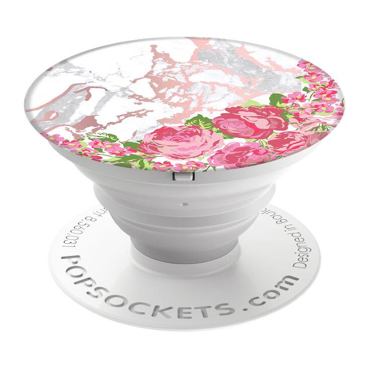 Floral Marble PopSocket,