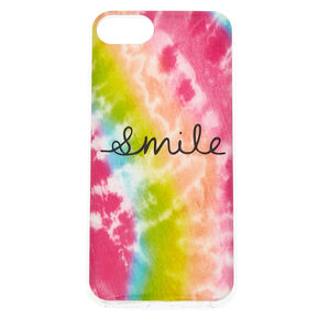 Smile Tie-Dye Phone Case - Rainbow,