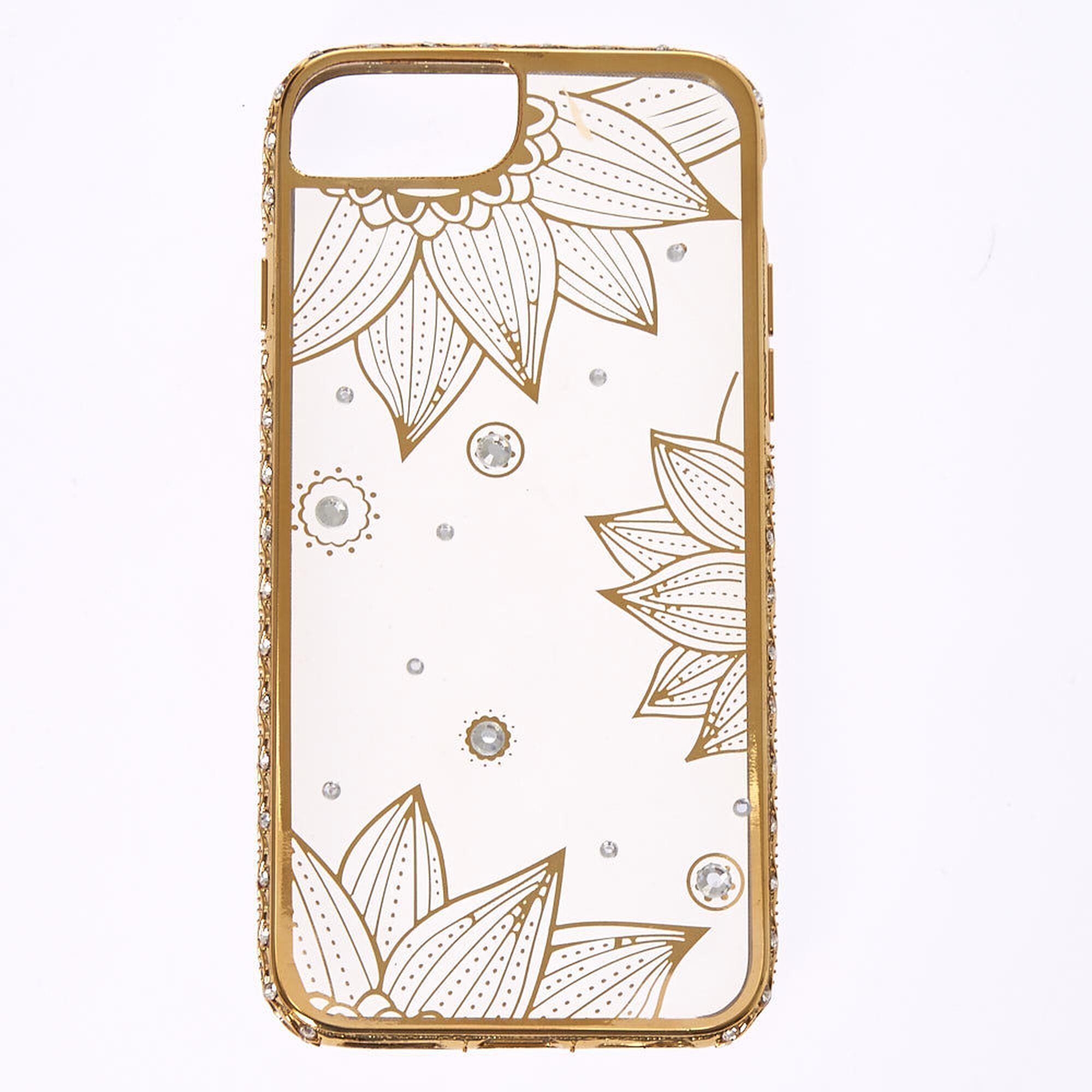 Crystal Lotus Flower Phone Case Icing Us