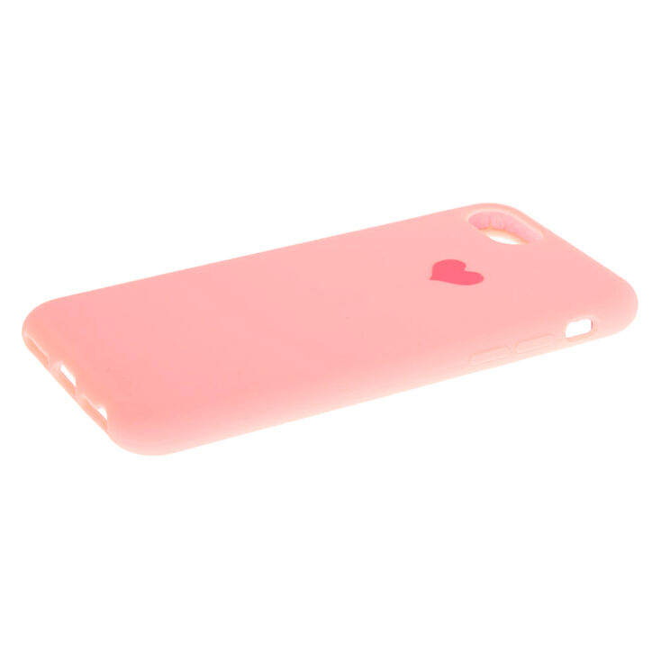 Pink Heart Phone Case - Fits iPhone 6/7/8/SE,