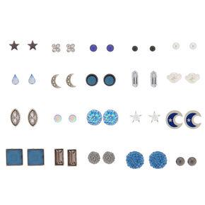 Galaxy Stud Earrings - 20 Pack,