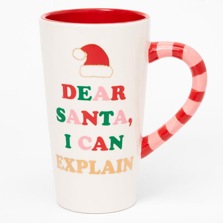 Dear Santa, I Can Explain Mug,