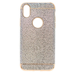 Holographic Pebble Phone Case - Fits iPhone X/XS,