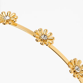 Gold Daisy Headband,