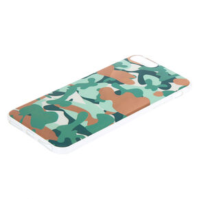 Rose Gold Camo Phone Case - Green,