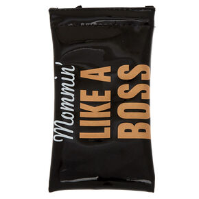 Mommin' Like A Boss Sunglasses Case,