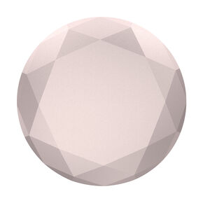 Rose Gold Metallic Diamond PopSocket,