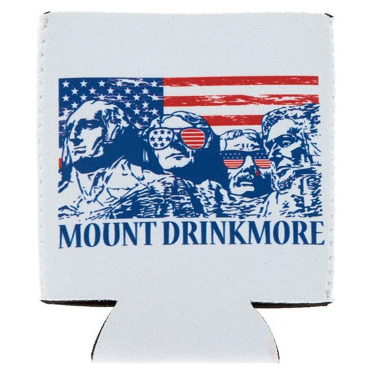 Mount Drinkmore Drink Koozie - White,