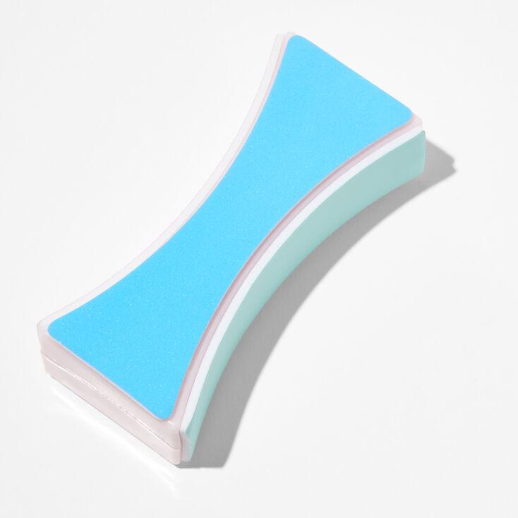 Silver 50MM Snowflake Charm Hoop Earrings,