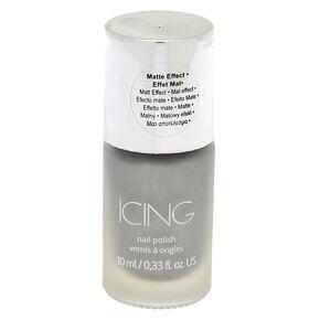 Matte Metallic Nail Polish - Silver,