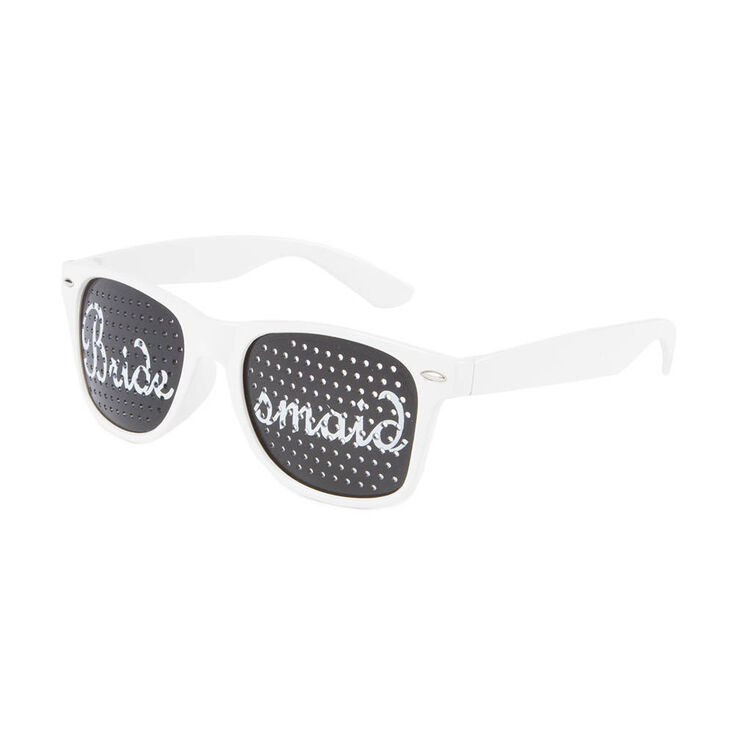 Bridesmaid Perforated Lens Sunglasses,