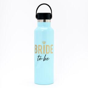 Bride To Be Metal Water Bottle - Blue,