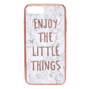 Enjoy the Little Things Phone Case - Fits iPhone 6/7/8 Plus,