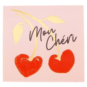 Mon Cheri Post-it Notes,