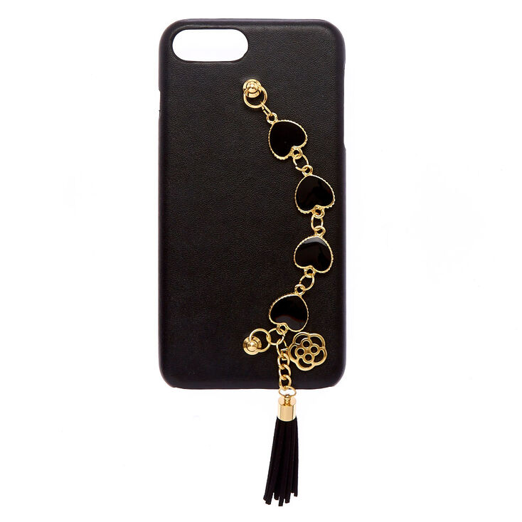 Heart Chain Phone Case - Fits iPhone 6/7/8 Plus,