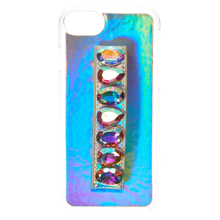 Holographic Stone Handle Phone Case,