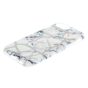 Holographic Cracked Marble Protective Phone Case - Fits iPhone 6/7/8,