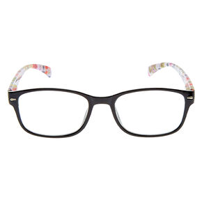 Floral Rectangle Frames - Black,