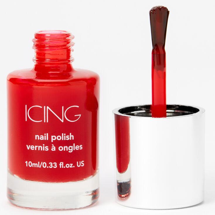 Solid Nail Polish - Bright Red,