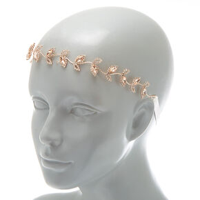 Rose Gold Vine Headwrap,