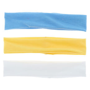 Trio Mix Headwraps - Yellow, 3 Pack,