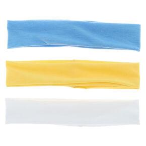 Trio Mix Headwraps - Yellow, 3 Pack,