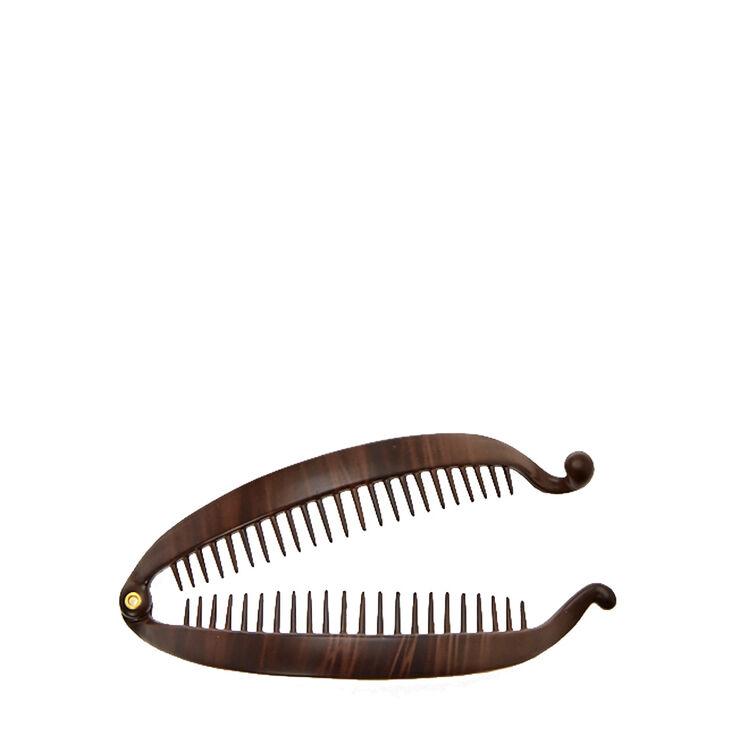 Flat Tortoise Banana Hair Claw,
