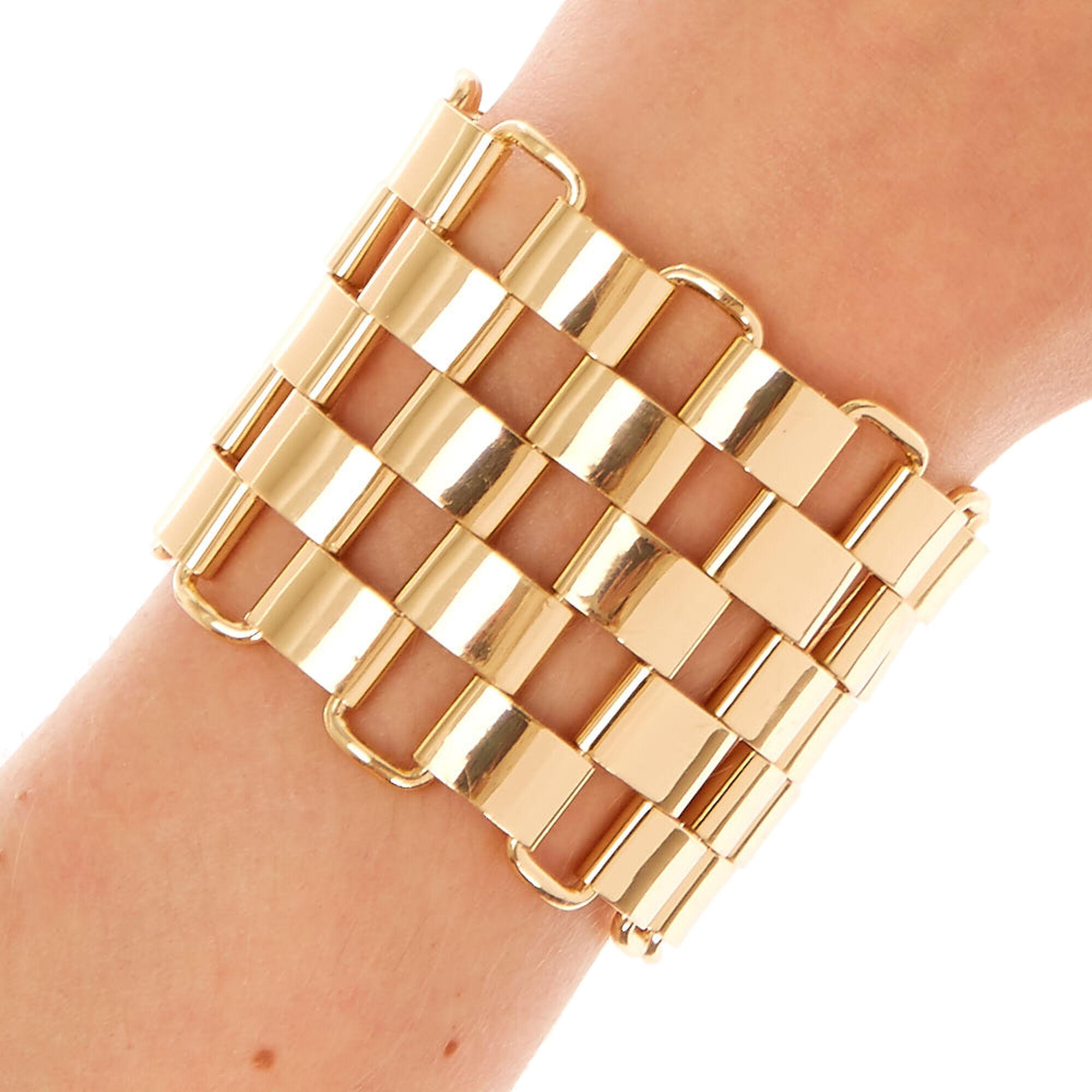 tri bangle dhgate bracelet product large rolling gold color from model com e bay