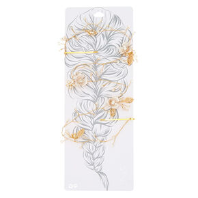Vintage Flower Garden Hair Swag,