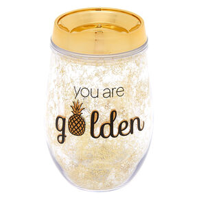 You Are Golden Pineapple Tumbler - Gold,